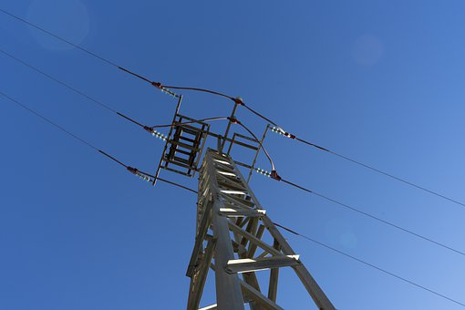 Power Lines, Voltage, Energy, Electricity, Cables