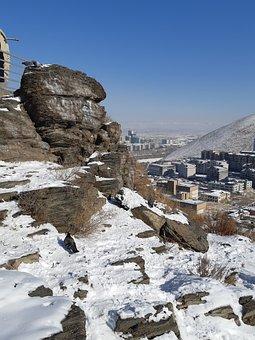 Winter, Nature, Skyway, City