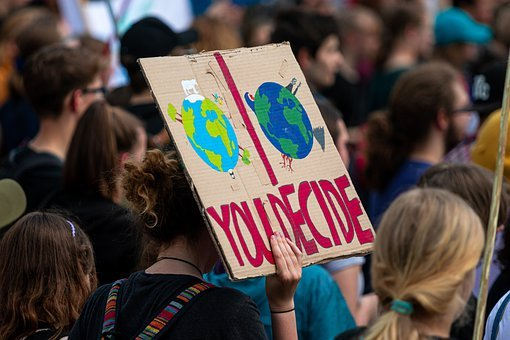 Demonstration, Fridays For Future, Climate Change