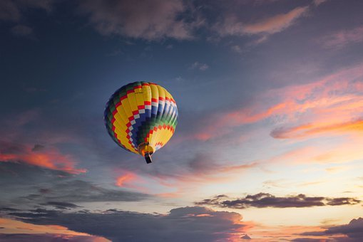 Balloon, Hot Air Balloon, Freedom, Sky, Flying, Airship
