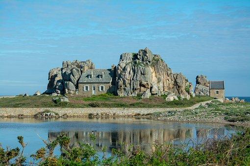 House, Stone, Castel Miur, Britain, Holiday