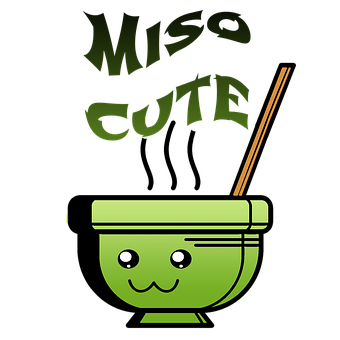 Miso, Japanese Soup, Kawaii, Miso Cute, Nigiri, Snack