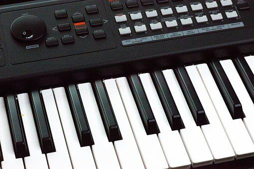 Synthesizer, Keyboard, Octave, Music, Instrument, Midi
