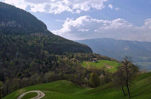 South Tyrol, Alto Adige, Neumarkt, Landscape, Italy