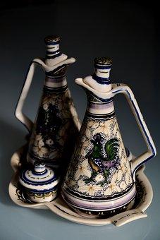 Kitchen, Ceramic, Portugal, Crockery, White, Simple