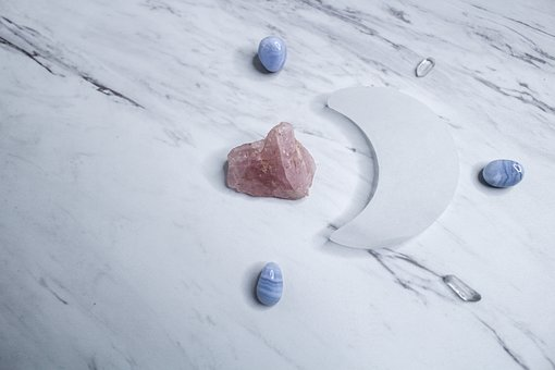 Crystals, Selenite, Stones, Stone, Rock, Marble, Moon
