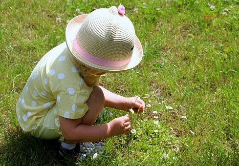 Child, The Little Girl, Summer, Childhood, Children