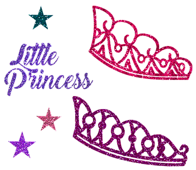 Princess Crown, Tiara, Little Princess, Glitter