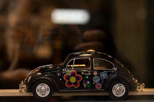 Vw, Beetle, Auto, Volkswagen, Vehicle