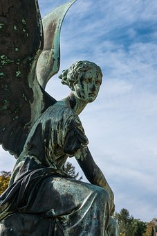 Angel, Figure, Statue, Wing, Hope