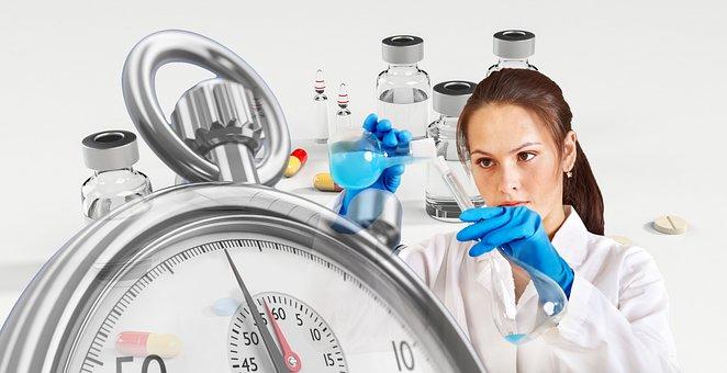 Vaccine, Chemist, Syringe, Stopwatch, Ampoule, Outbreak