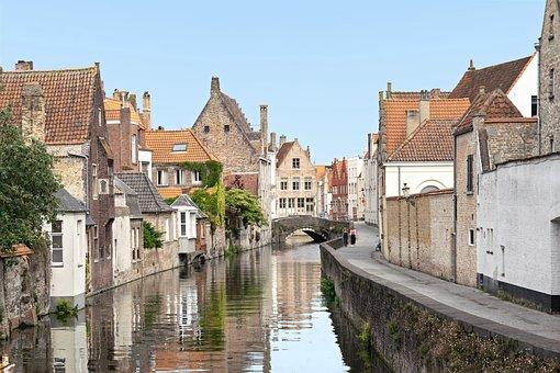 Brugge, Bruges, Belgium, Architecture, City, Romantic