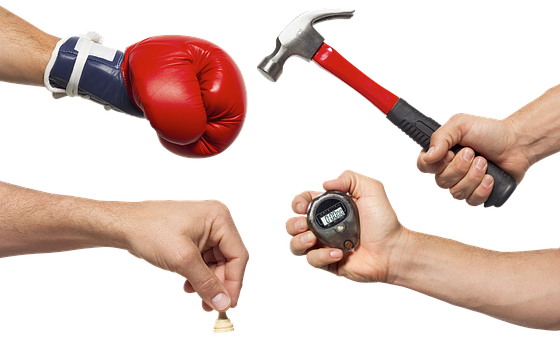 Hands, The Hand Of The Boxer, Boxing, Boxing Glove