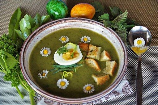 Vernal, Soup, Herb, Cream, Home, Kitchen