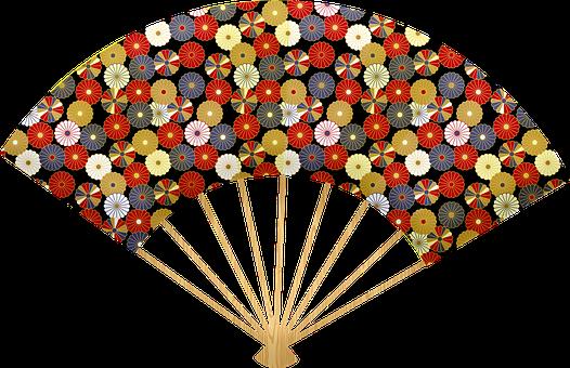 Japanese Fan, Fan, Japan, Chinese, Origami, Design