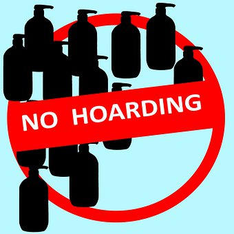 No Hoarding, Prohibit, Forbid, Stockpiling, Coronavirus