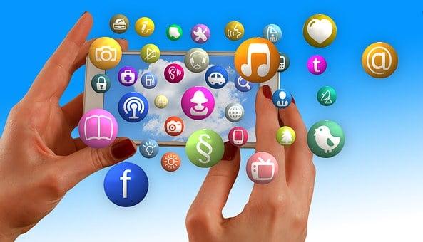 Hands, Smartphone, Social Media, Social Networks, Media