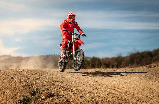 Motocross, Pilot, Moto, Speed, Sport, Extreme, Race