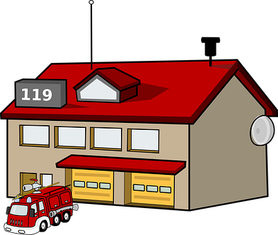 Station, Firefighter, 119, Emergency, Fireman, Rescue