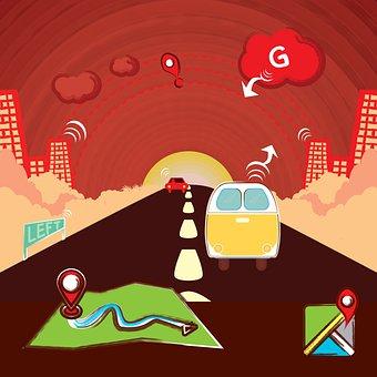 Editorial, Road Trip Target, Online Path Travel, Van