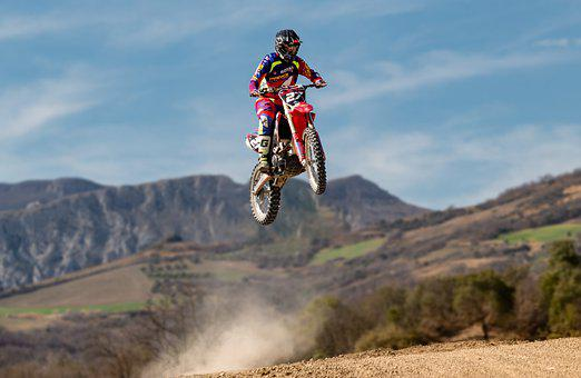 Motocross, Pilot, Moto, Sport, Extreme, Speed, Race