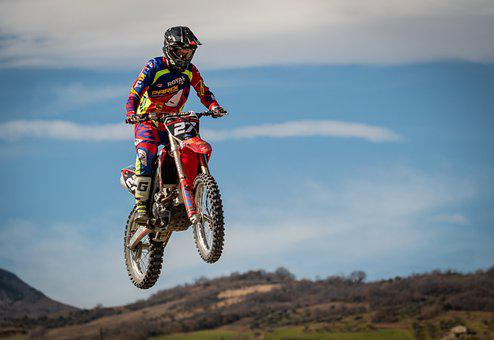 Motocross, Pilot, Moto, Race, Sport, Speed, Extreme