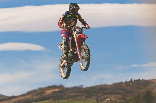 Motocross, Pilot, Moto, Sport, Race, Speed, Extreme