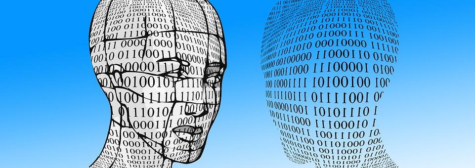 Binary, Head, Face, Mask, Random, Pay, Digital, Those