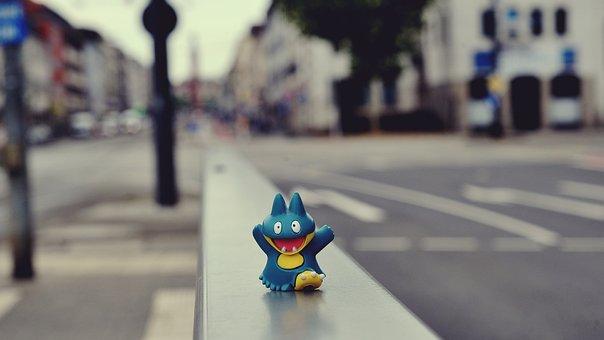 Pokemon, City, Modern, Urban, Pokemon Go, Figure