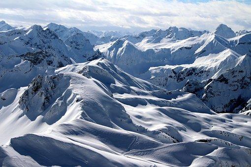 Alpine, Allgäu, Austria, Skiing, Snow