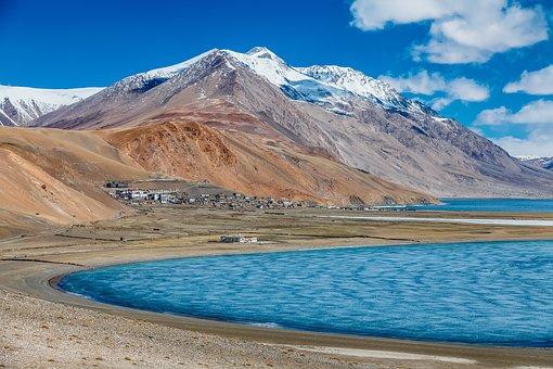 Salt, Lake, Bolivia, Landscape, Blue Landscape