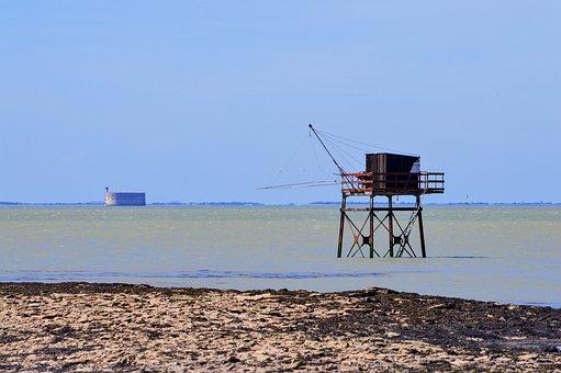 Fort Boyard, Charente-maritime, France, Fort, Sea