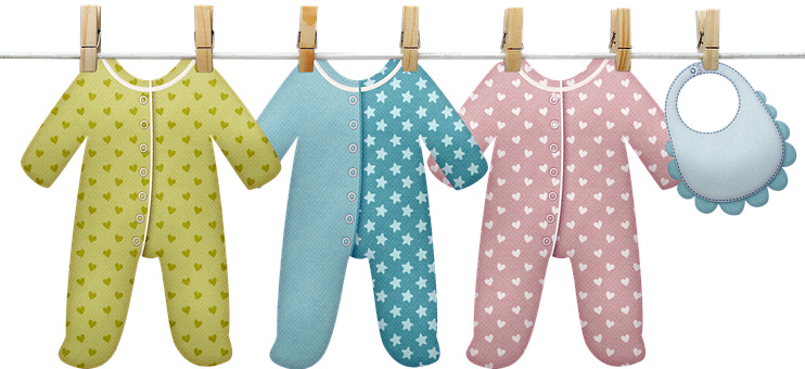 Baby Clothesline, Baby Clothes, Baby, Clothesline