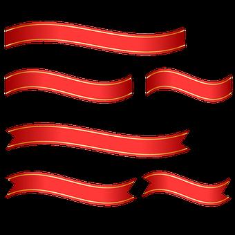Ribbon, Label, Shiny, Banner, Decoration, Design