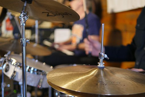 Drummer, Drum Set, Drums, Music, Musician, Band