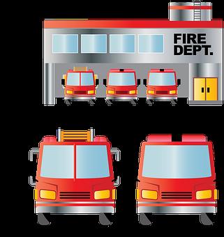 Fire Department, Fire Truck, Firefighter, Firetruck