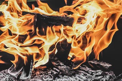 Fire, Flame, Carbon, Wood, Burn, Heat, Hot, Light, Glow