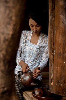 Women, Culture, Bali, Tea, Asia, Indonesia, Traditional