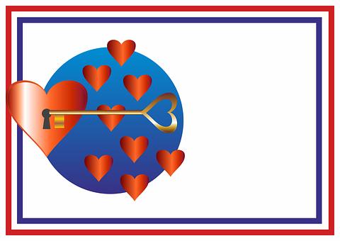 Key, Key Hole, Castle, Heart, Input, Love, Romance