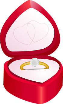 Diamond, Engagement, Love, Marriage, Ring, Valentine