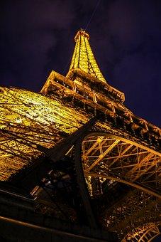 Tour Eiffel, Eiffel Tower, Paris, France, Attraction
