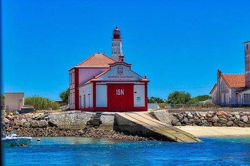 Ilha Do Farol, Olhao, Portugal, Summer, Portuguese