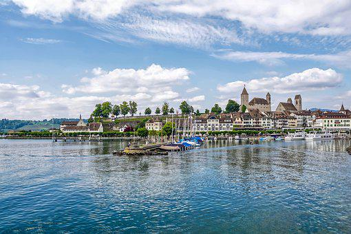 Rapperswil, Switzerland, Rapperswil Jona, Lake Zurich