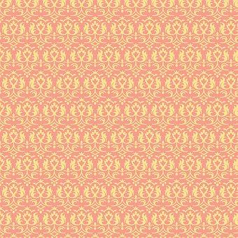 Digital Paper, Scrapbooking, Pattern, Template, Vintage