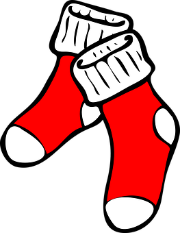 Socks, Red, Foot, Clothing, Warm Feet