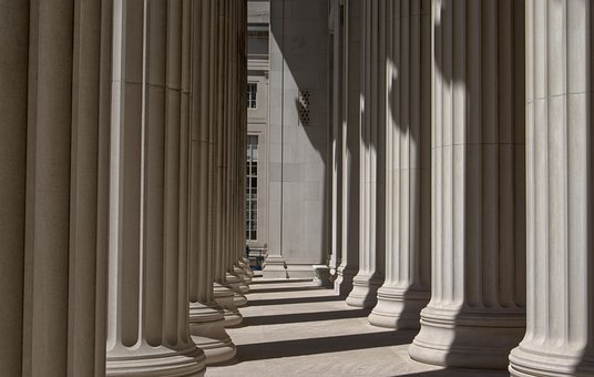 Columns, Building, Massachusetts, Institute, Technology