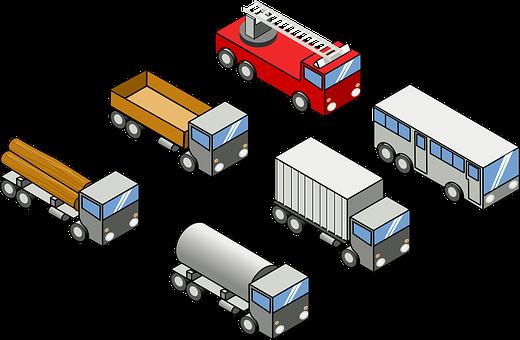 Toy Trucks, Toy Vehicles, Trucks, Bus, Firetruck