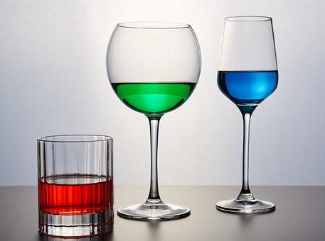 Glass, Glasses, Drinks, Wine, Drink, Transparent