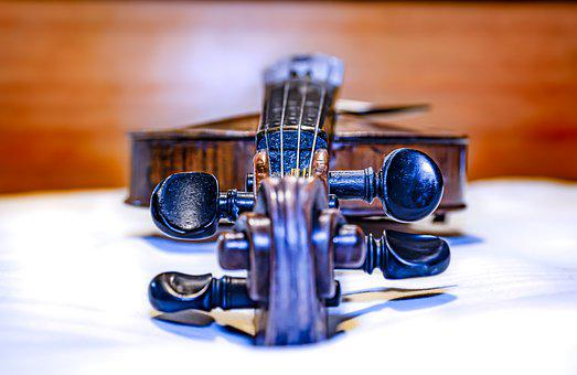 Violin, Musical Instrument, Classic, Classical, Keys