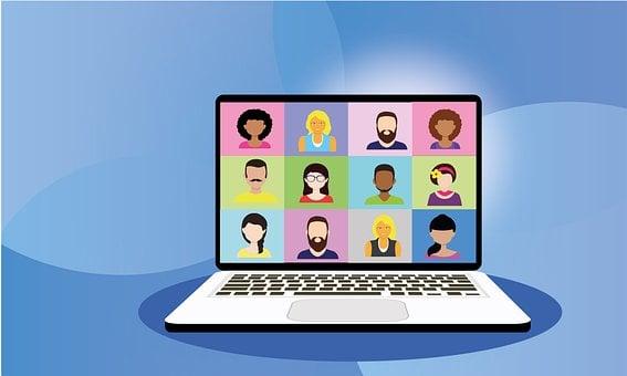 Video Conference, Online, Home Office, Webinar